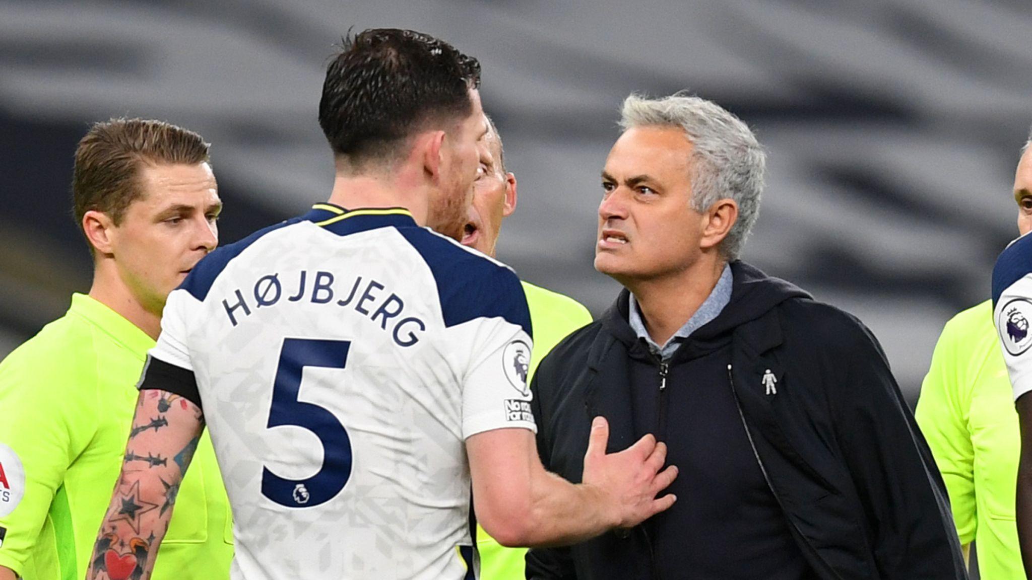 Jose Mourinho, Pierre Emile Højbjerg, Tottenham Hotspur