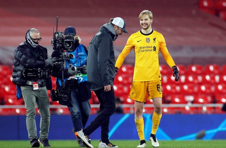Caoimhín Kelleher, Liverpool FC
